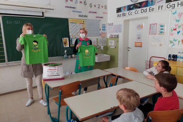 V občini Ivančna Gorica letos kar 196 drugošolcev postalo novih zelenih bralcev