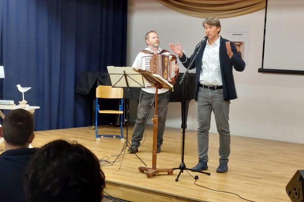 Jure Tori in Aleš Šteger v Ivančni Gorici