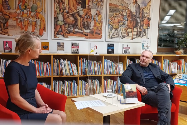 Pogovor s pisateljem Sebastijanom Pregljem